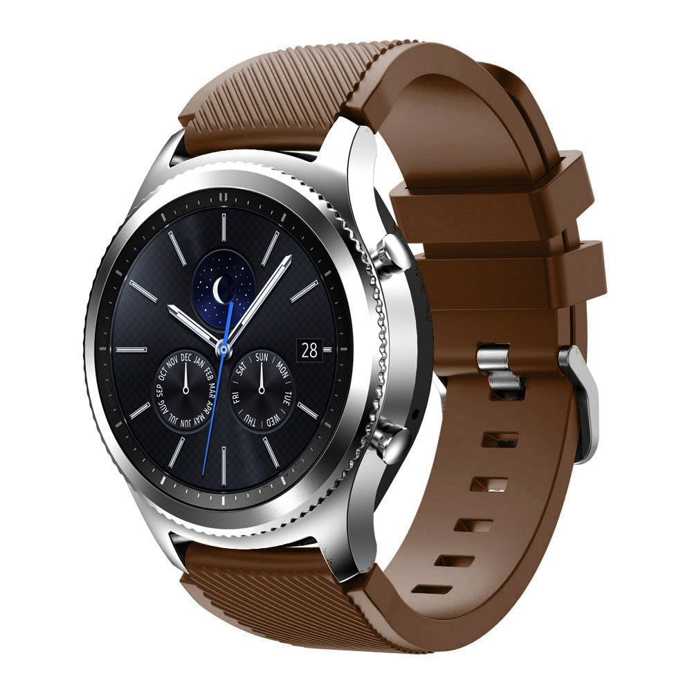 Nerw arrival Rubber Silicone Bracelet Watch Strap Band For Samsung Gear S3 Classic Watchbands Replacement Buckle watch band
