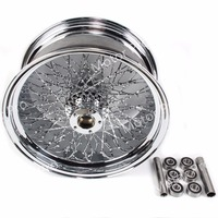 1 PCS FOR Harley Davidson XL 1200 R SPORTSTER ROADSTAR Stainless Steel Motorcycle Rear Wheel Rim Chrome