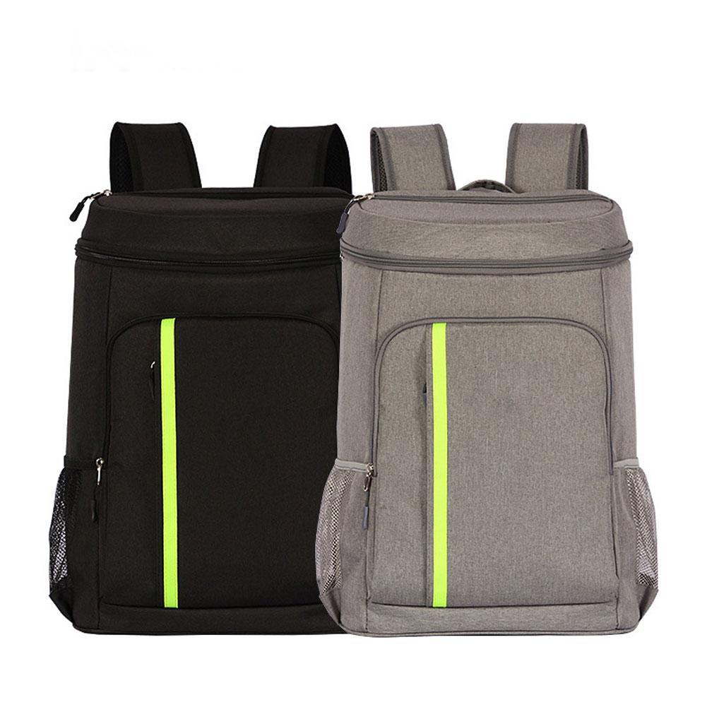 32.8L Food Drink Beer Insulation Backpack Travel Picnic Lunch Thermal Cooler Bag Ice Bag dropship