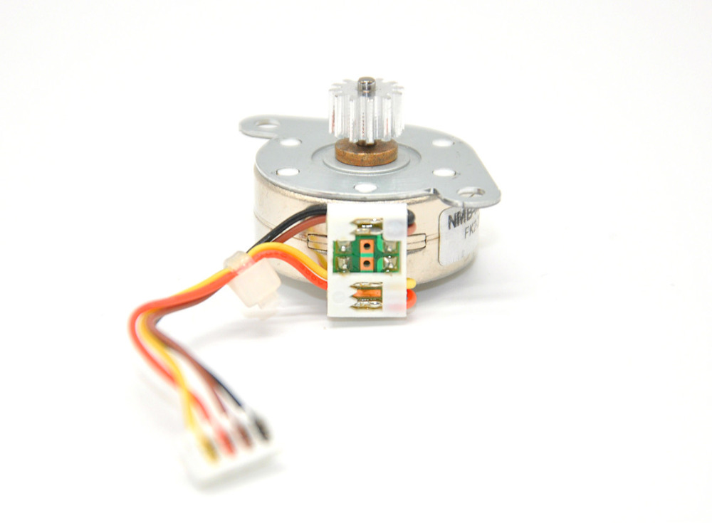 US $5 57 7% OFF|PM25S 024 ZH89 NMB 5V stepper motor PM25S 024 ac motor 25mm  4 phase 5 wires moto-in Stepper Motor from Home Improvement on