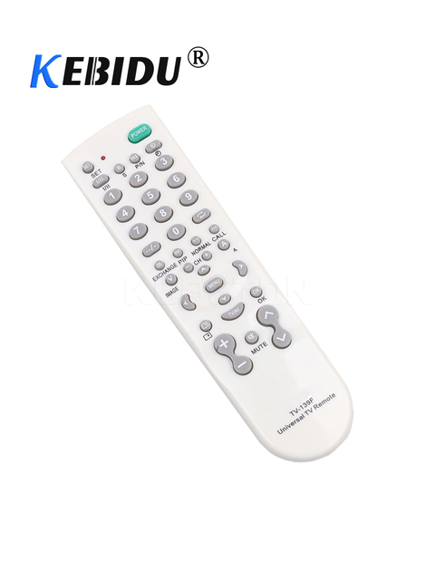 kebidu Universal TV Remote Control Smart Remote Controller for TV Television TV 139F Multi functional TV Remote Control