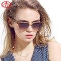 2017 Hot New Moda Feminina Retro Personalidade Óculos De Sol óculos de Sol UV Óculos de Sol Estilo Borboleta