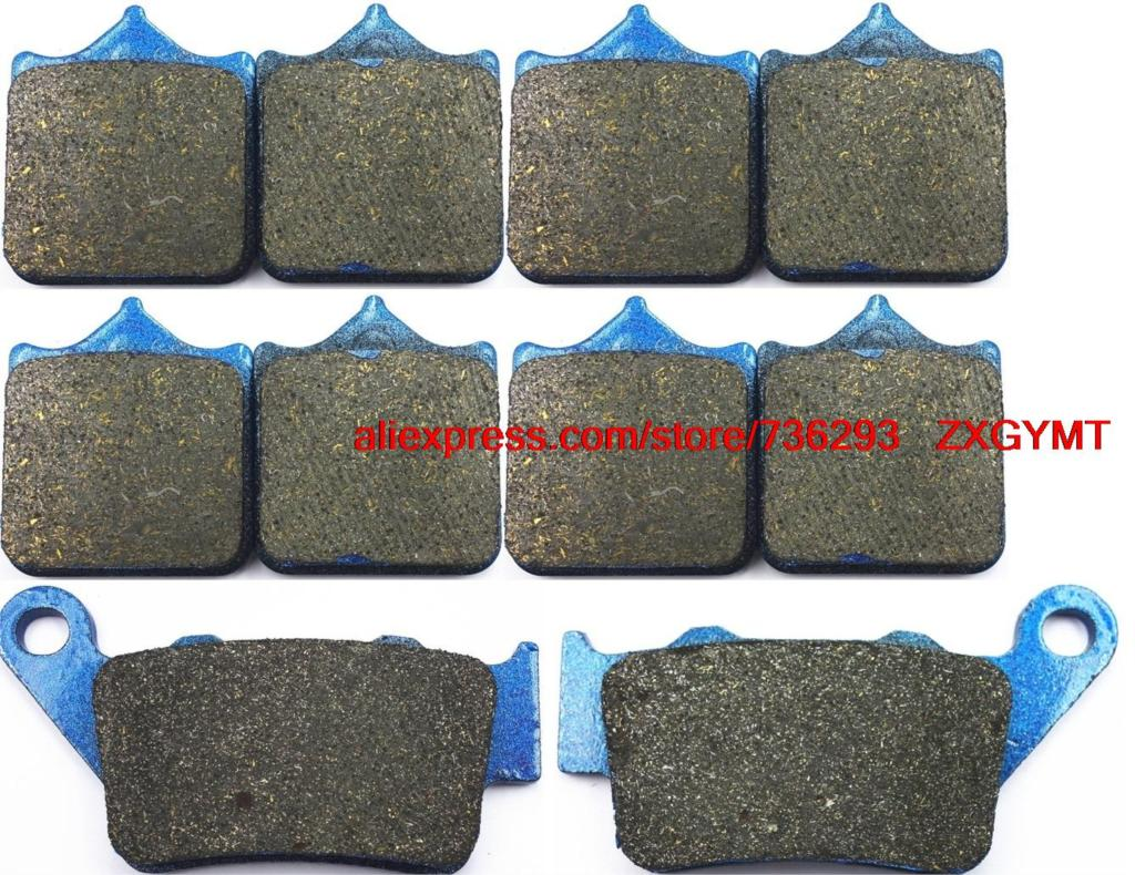 Motorcycle Carbon Brake Shoe Pads Set fit BMW S1000 S1000RR S 1000 RR 2009 - 2014 brake shoe