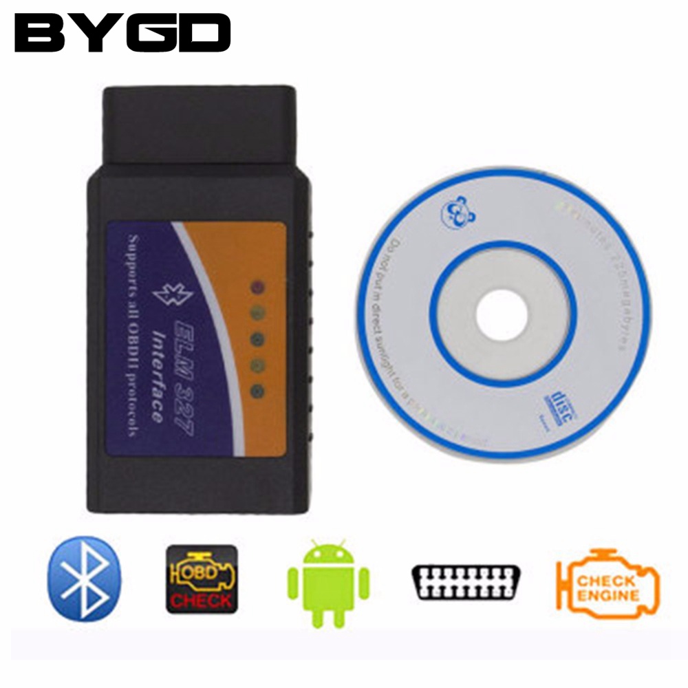 V2 1 elm327 obd 2 bluetooth car diagnostic interface scanner obd ii obdii rivelatore compatibile