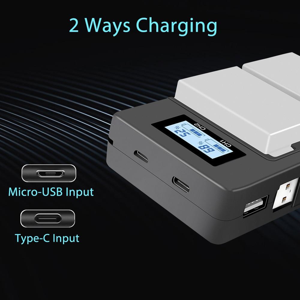 PALO-2Pcs-1800mah-LP-E8-LPE8-LP-E8-Battery-Batterie-AKKU-LCD-Dual-Charger-for-Canon