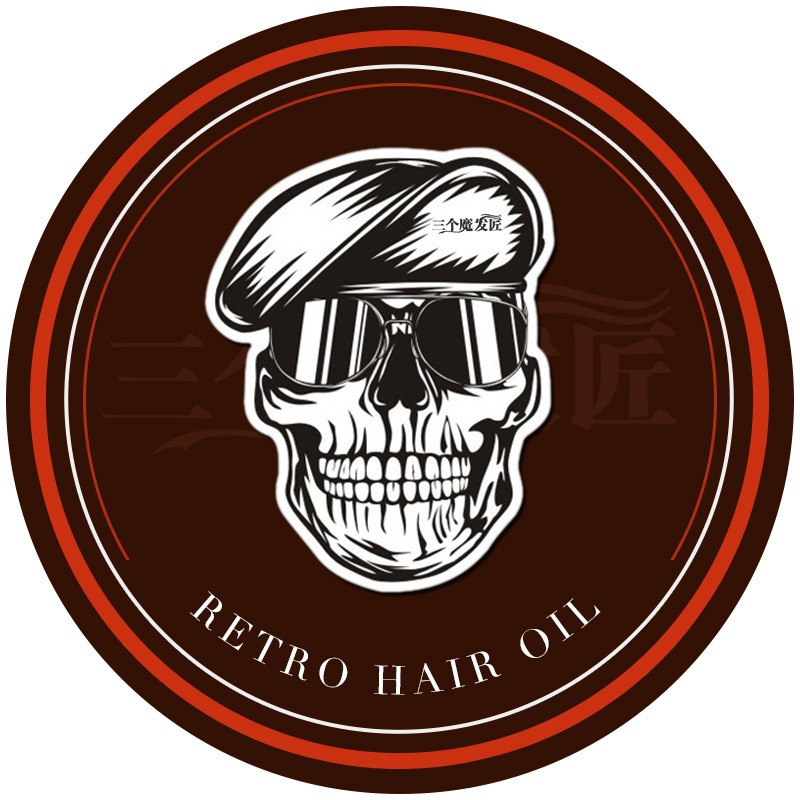 Strong Style Restoring Pomade Hair Wax Skeleton Cream Vintage