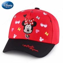 b23d33879bb Disney Baby Minnie Red Pink Blue Cotton Beach Hat Child Cotton Hat Caps  Baby Sun hats