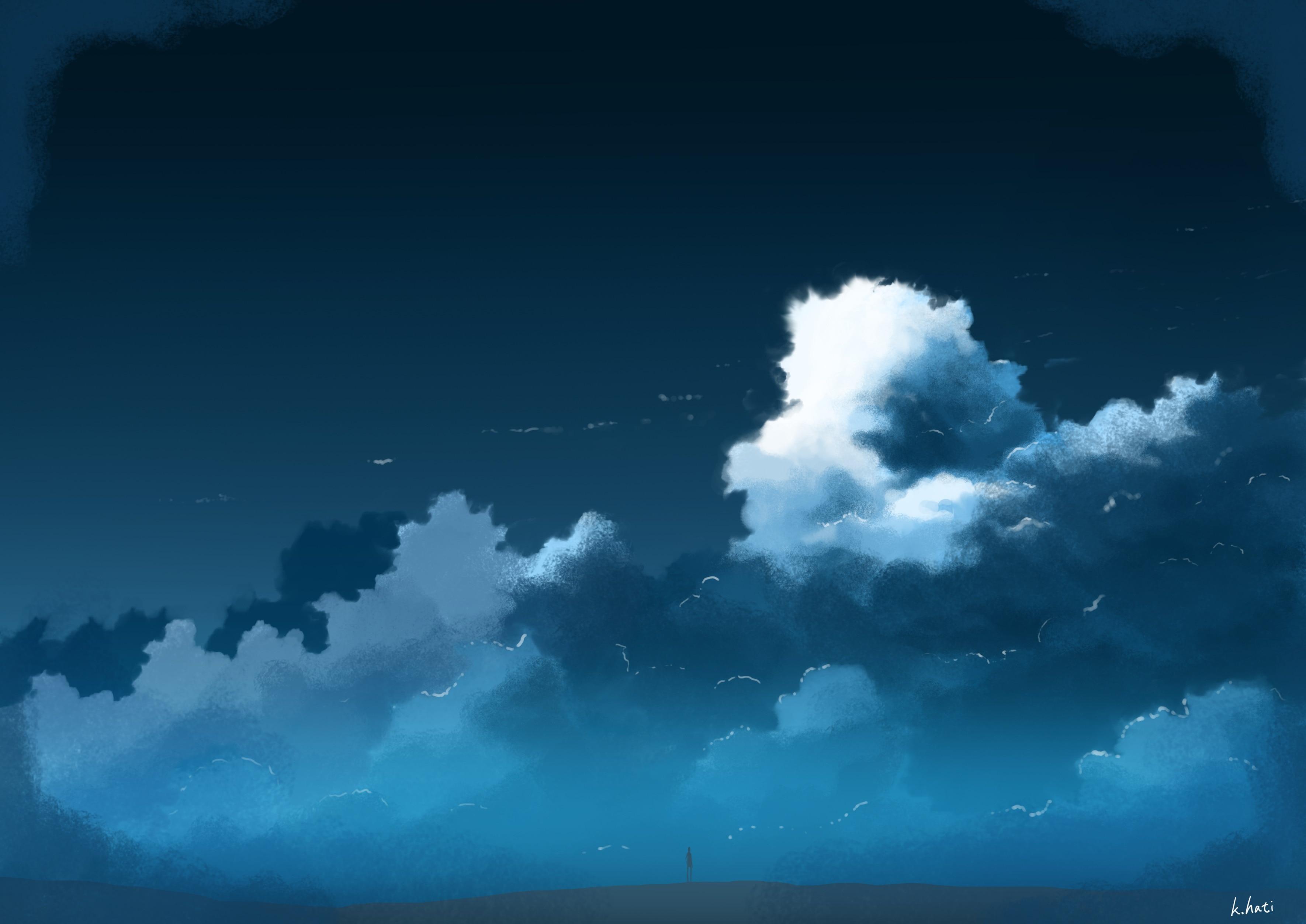 【P站画师】日本画师K.Hati的插画作品,来看风景吧- ACG17.COM
