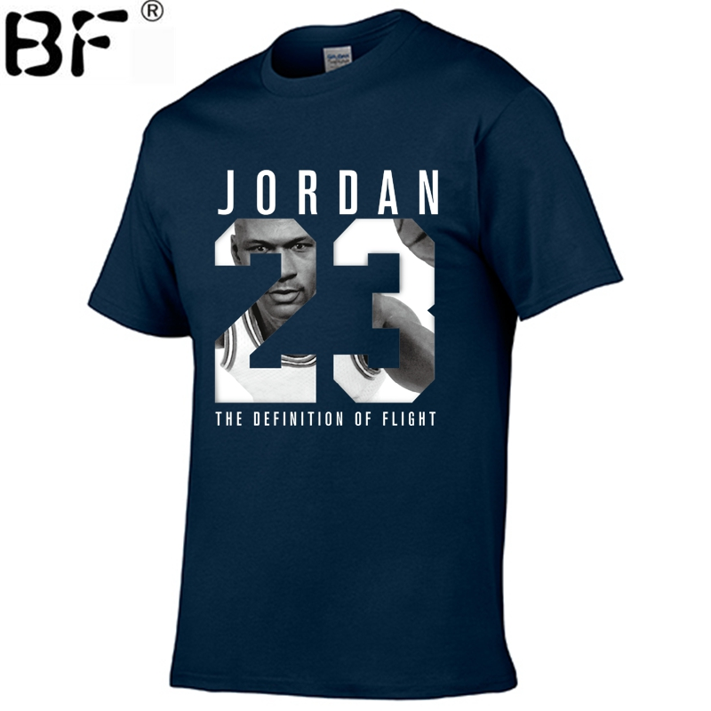 2018 New Brand Clothing Jordan 23 Men   T  -  shirt   Swag   T  -  Shirt   Cotton Print Men   T     shirt   Homme Fitness Camisetas Hip Hop Tshirt