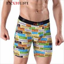 Plus Size Boxer Men Long Underwear Ice Silk 365 Calecon Homme Boxershorts Underpants Male Cueca CP11