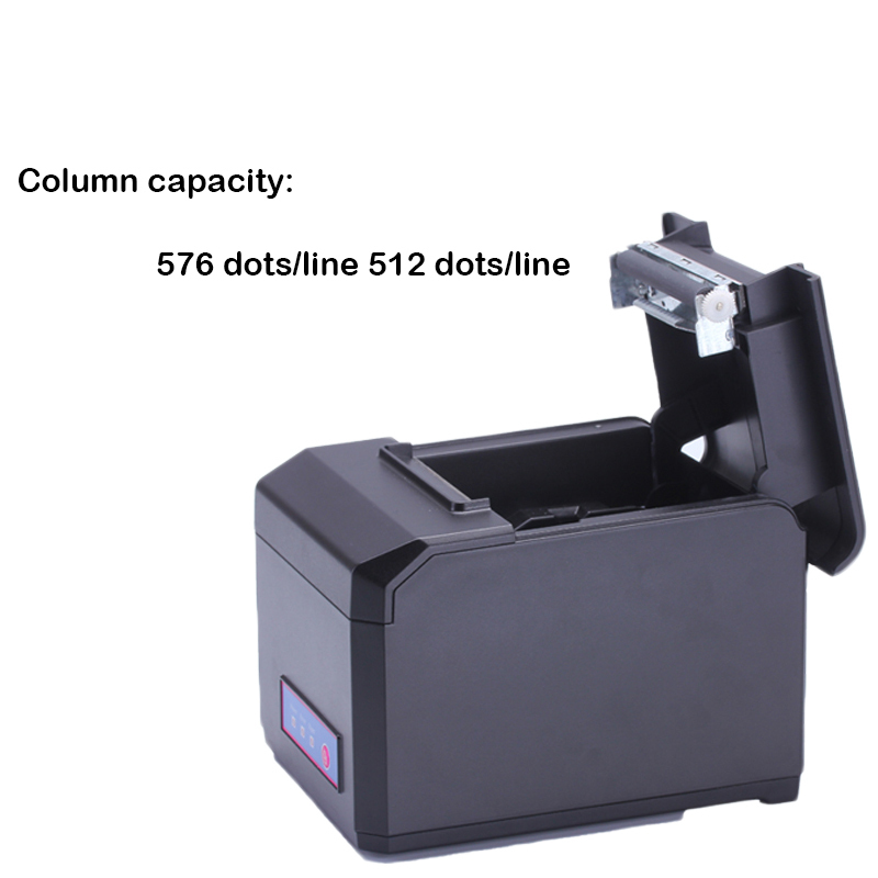 USB+ Serial 80mm thermal receipt printer 300mm /s high speed printing support Windows Linux drivers with cutter from Japan mqtt could printing solution gprs 2 inch thermal receipt printer with usb lan port support win10 and linux auto cutter