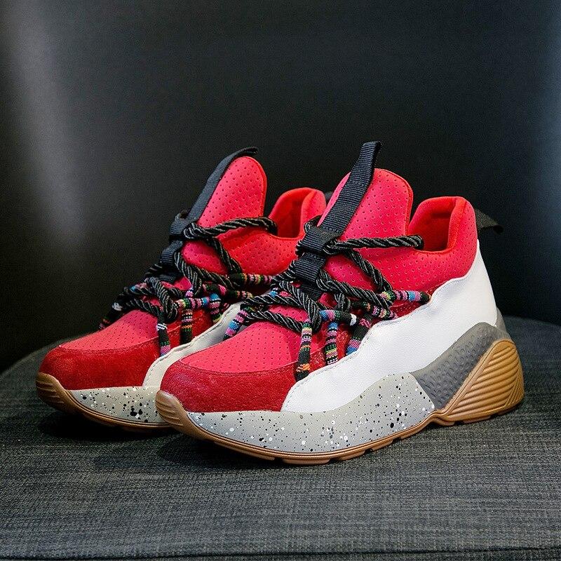 Rojo Todos Transpirable Señora Marca Plataforma Calzado Blanco blanco  Jookrrix Casuales Zapatillas Zapatos Los Otoño Mujer Chaussure Chica  v7ZxTqAw 6a54db37def6