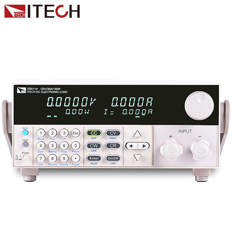 ITECH IT8511+ DC electronic load 150W/120V/30A Laboratory power supply Load meter цена