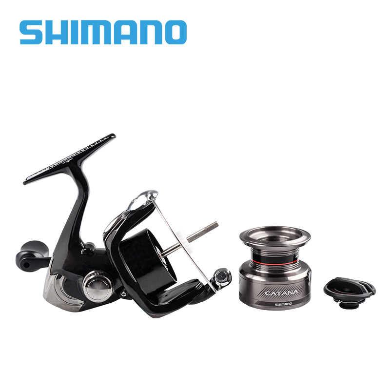 Shimano Catana Spinning Visserij-reel 2500 2500HG C3000 C3000HG 4000 4000HG Zoutwater 8.5Kg Max Drag Arc Spool Vissen Rollen