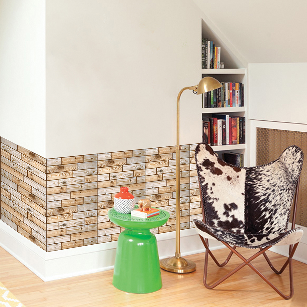 Removable Wallpapers Waterproof Self Adhesive Wallpaper Kitchen Cupboard Brick Pvc Wall Stickers For Room Bathroom In From Home