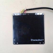 UM2 Ultimaker 2 Ir 3d impressora de cama aquecida com aquecedor de cartucho, sensor pt100 tempreture, cabo diy Blurolls