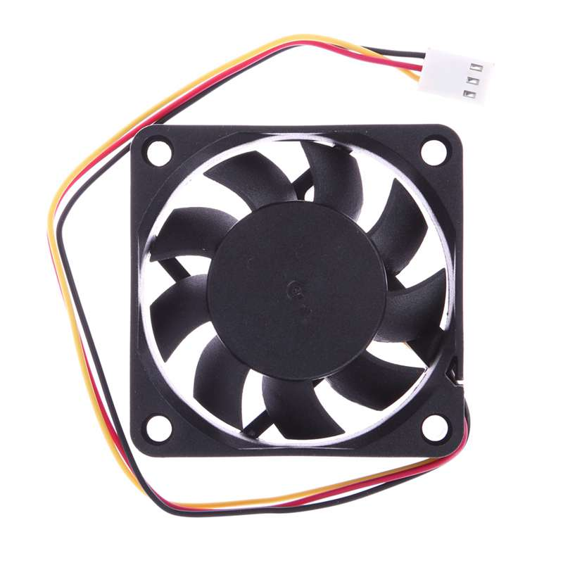 60*60*<font><b>1.5mm</b></font> Portable Cooling Fan <font><b>Ball</b></font> <font><b>Bearing</b></font> DC 12V 3Pin Connector For P4 Computer Laptop PC Small Cooler Cooling Fans Adapter image
