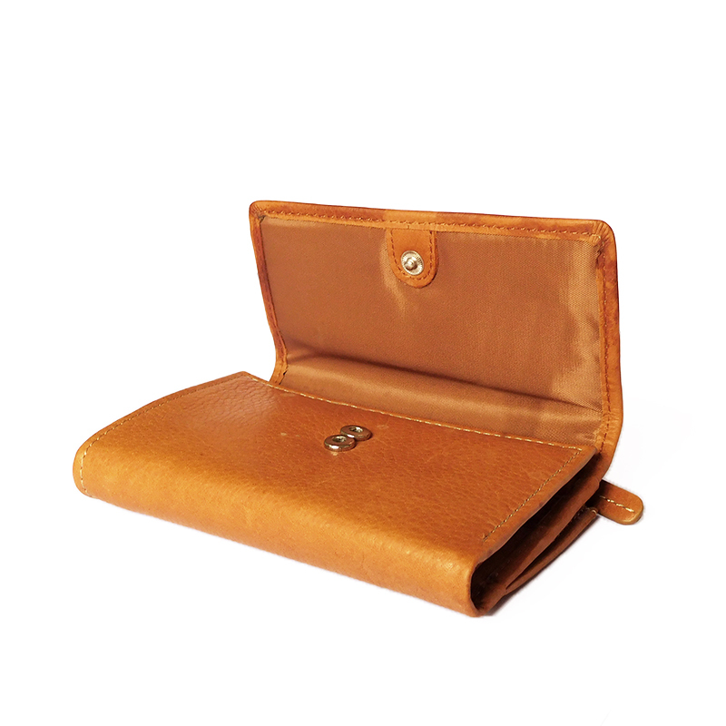 Fossil Brand Genuine Leather Women Wallet,Soft Cowhide Fold Purse ...