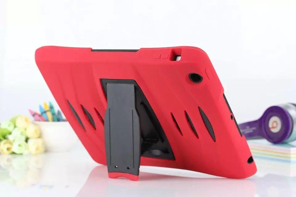 armadura a prueba de golpes protector de soporte sillone case cover para apple ipad ipad
