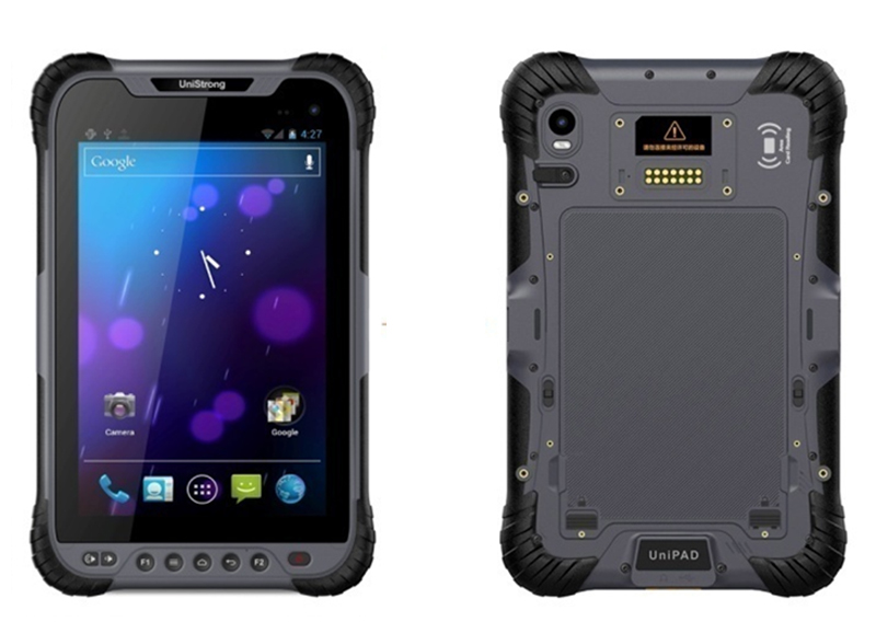 Industrial Rugged Tablet PC 1D 2D Laser Android Barcode Scanner Handheld Terminal Reader PDA IP68 Waterproof