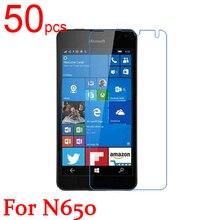 50pcs Ultra Clear Matte Nano anti Explosion LCD Screen Protector Film Cover For Microsoft Lumia 535