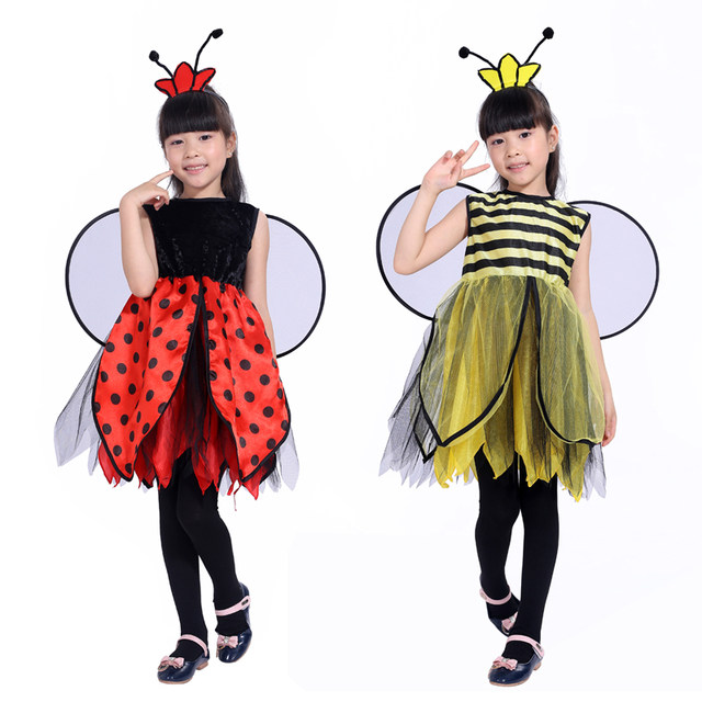 new free shipping childrenu0027s masquerade party Bee costume for girls Bee ladybug Halloween costume Pretty  sc 1 st  Aliexpress & Online Shop new free shipping childrenu0027s masquerade party Bee ...