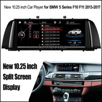 New 10 25 Inch Split Screen Android 4 4 Car Player For BMW 5 Series F10