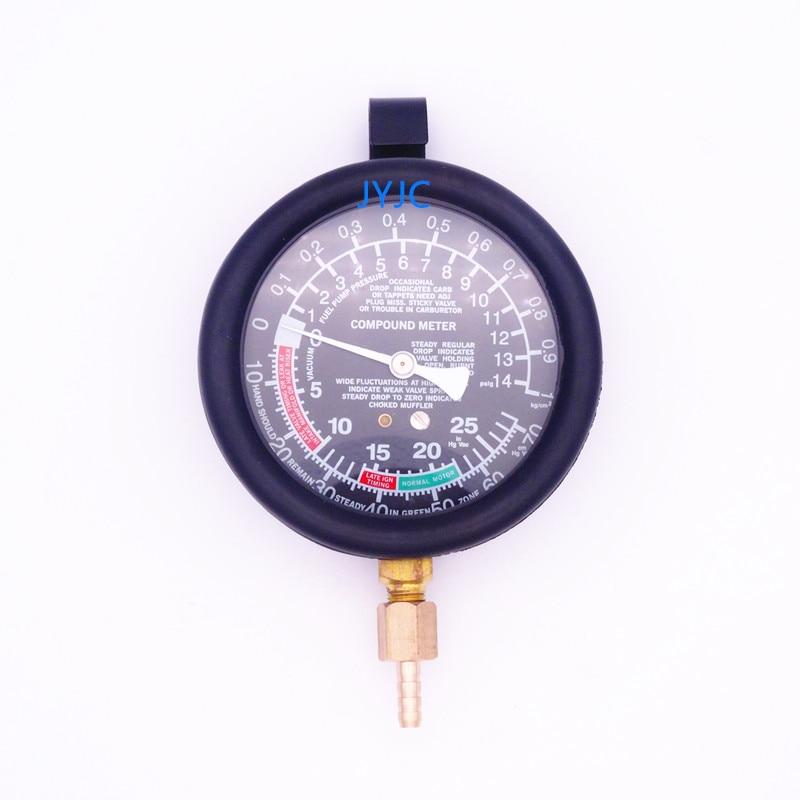 Image 3 - Automotive Engine Vacuum Gauge Intake Manifold Negative Pressure Detection Car Repair Diagnostic Tools TU 1-in Pressure & Vacuum Testers from Automobiles & Motorcycles
