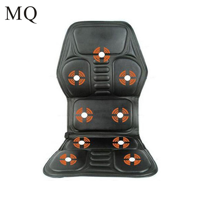 heated office chair. Heat Vibrate Cushion Back Neck Massage Electric Car Home Office Seat Massager Heated Chair A