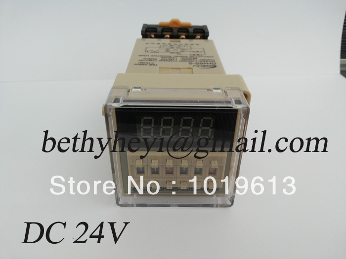 Подробнее о dh48s-s digital time relay DC 24v cycle delay timer relay with socket signal relay agy2324 ds2y s 24v ds2y s 24 v agy2324