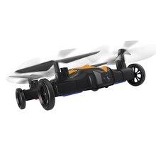 2017 Voando Brinquedos de controle Remoto Carro LH-X21 2.4G 8CH 6 Axis racing Carro RC Zangão 2 EM 1 a Terra/Céu Kit rc Quadcopter UFO