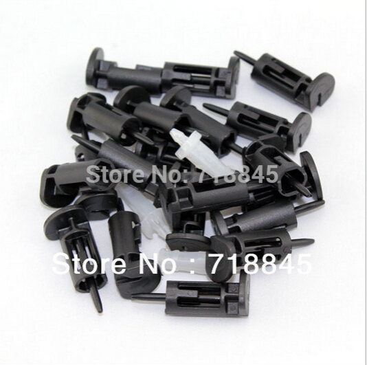 Купить с кэшбэком New 10PCS 10pair Lot Plastic PC Computer CPU Intel 775 1156 Fan Screw Fixer