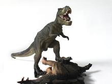 Burst Models Tyrannosaurus Rex Dinosaur Static Simulation Model Toy Plastic Model Assembled Plastic Dinosaur Animal Science