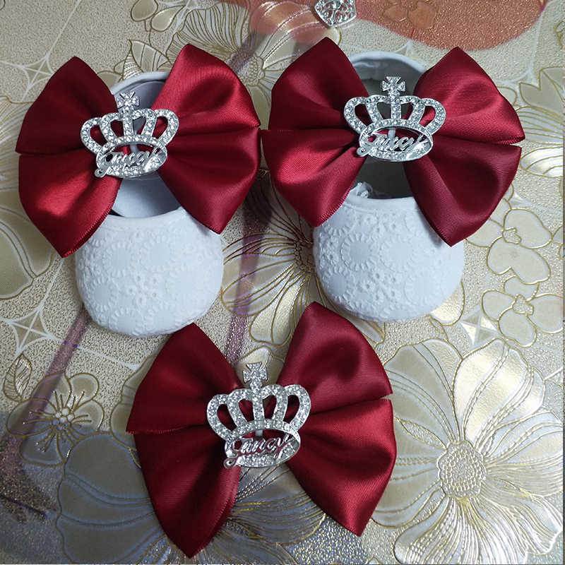 Custom Sparkle bow princess rhinestone