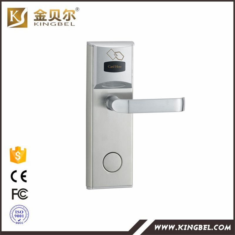 RFID RF Card Reader Hotel Door Lock With Complete System ...
