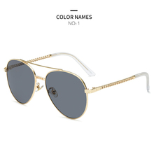 GYKZ Sunglasses Women Fashion Gold Frame Pilot Classic Female Unisex Sun Glasses For 2019 Outdoor Eyewear UV400 gafas de sol