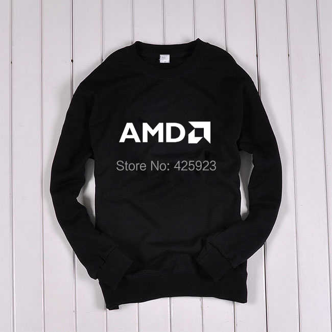 Men's Clothing Sweatshirts New IT Series AMD spring sweatshirt jacket Men