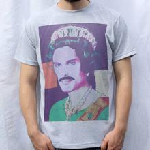 f240819ef6de5 La Reina Freddie Mercury camiseta diseño barato venta al por mayor camisetas  2019 moda t camisa
