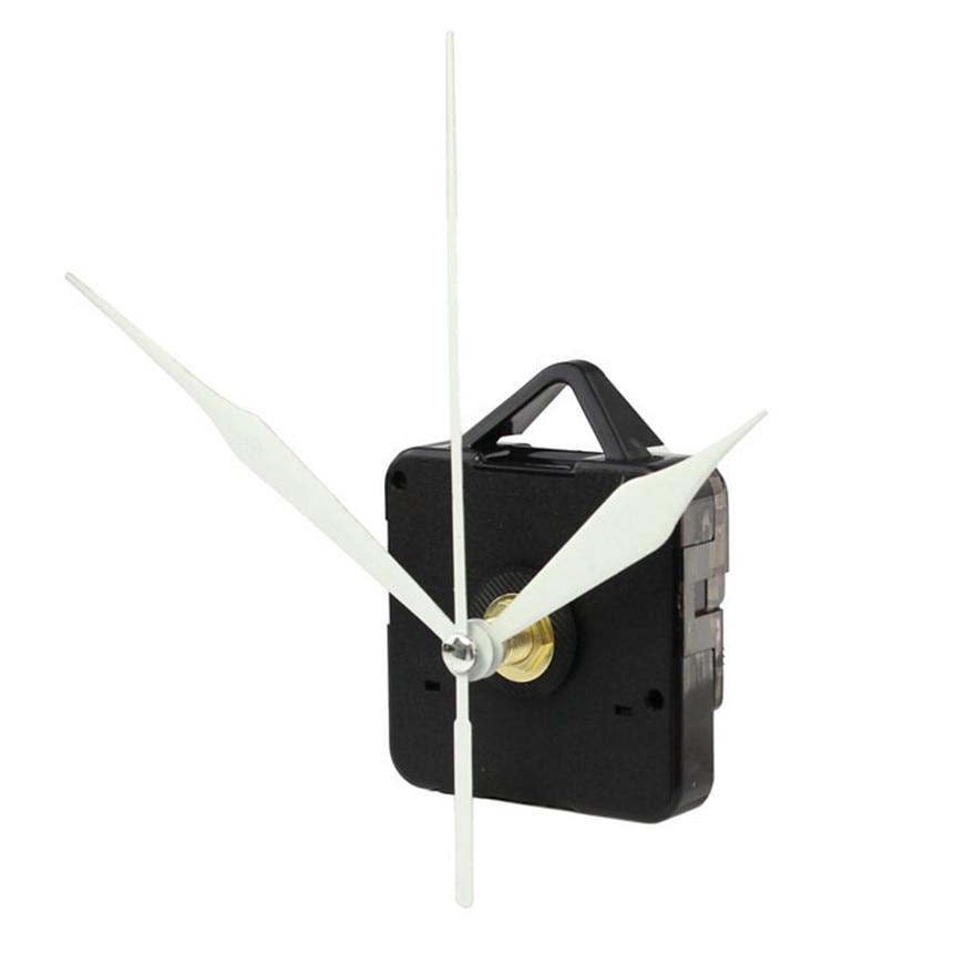 Mooie pet Hoge Kwaliteit Wit Pijl Quartz Uurwerk Mechanisme met Haak DIY Reparatie Onderdelen + Handen drop verzending 0616