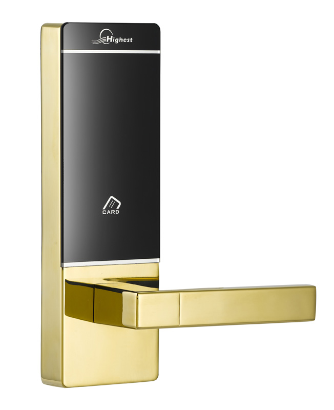 RFID T5577 hotel lock, hotel lock system, sample comes with a test T5577 card ,sn:CA-8062 rfid t5577 hotel lock hotel lock system sample comes with a test t5577 card