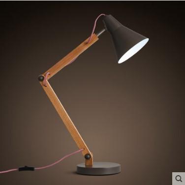 lmparas de mesa moderna simple de madera mesa de luz para la vida sala de estudio