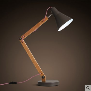 Aliexpress.com : Buy Table Lamps Simple Modern Wood Wooden Table Light For  Living Study Room Beside Desk Table Lamps Lampara Abajur De Mesa Tavolo  From ...