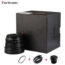 7 artesãos 25mm/F1.8 Prime Lens para Todos Série Única para Sony E Mount/Canon EOS-M Monte/Fuji FX Montagem/M43 Olympus Panasonic
