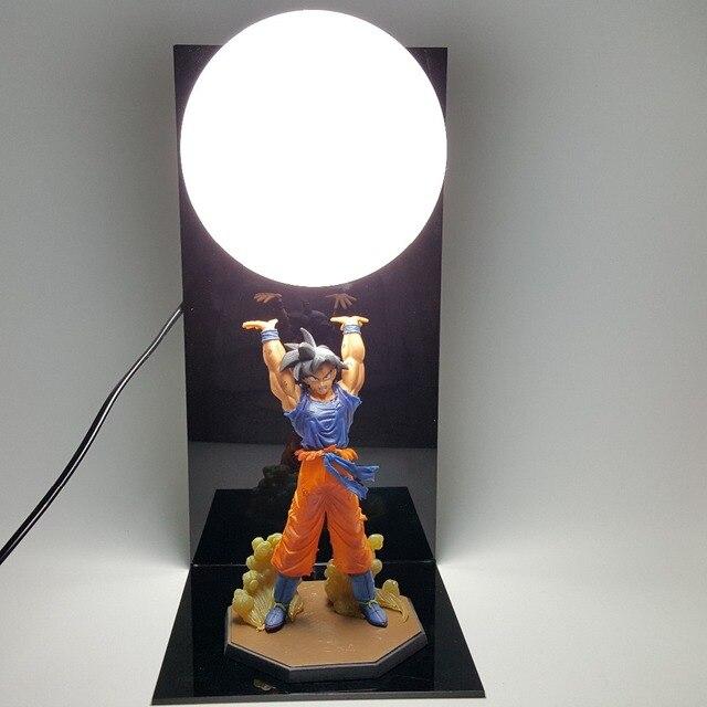 Dragon Ball Z Goku Spirit Bomb Lamp