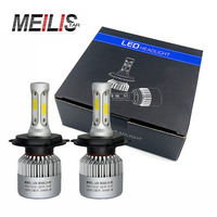 Meilistar S2 Car LED Headlight Kit H4 H7 H11 9006 HB3 9007 HB4 H1 H13 COB