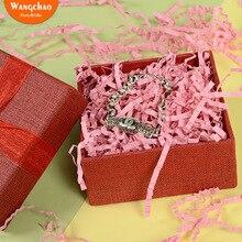20 г бумажный наполнитель чистый цвет Lafite коробка наполнитель красное вино подарочные упаковочные материалы Свадьба День рождения девичник вечерние украшения