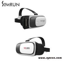 Symrun 2016 Head Mount Plastic Vr Box 2.0 Version Vr Virtual Reality Glasses Google Cardboard 3D Game Movie Vr Shinecon