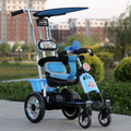 Buggies de carro carro de cuatro ruedas carro de bebé cochecito de cuatro niños
