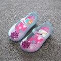 Детская обувь 2017 Новая мода дети сандалии обувь для девочек сандалии эльза анна обувь желе малышей девушки обувь сандалии zapatos