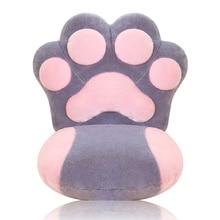A Pata do gato Projeto capa de Almofada Para Home & Office Engrossado Conjunta Desmontagem Decora Travesseiro Cadeira Almofada Cadeira Almofada Do Assento de Alta Qualidade